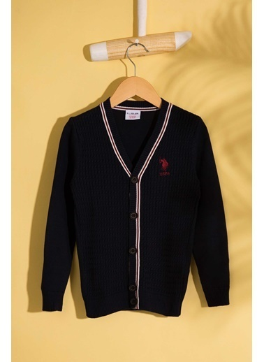 U.S.Polo Assn. Hırka Lacivert